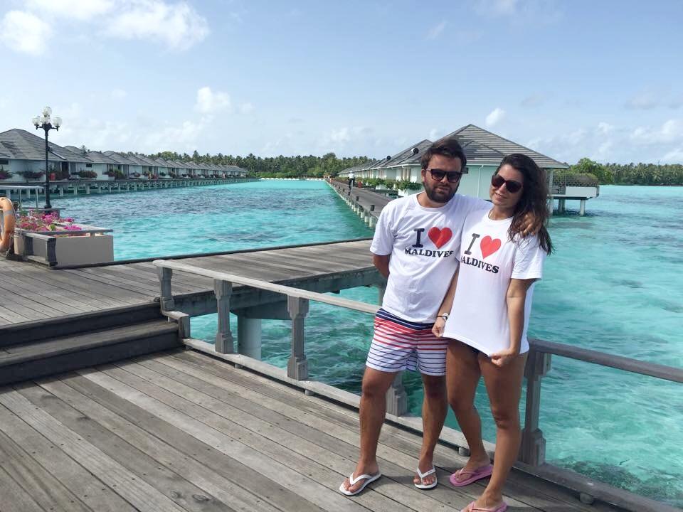 Water villas at Sun Island Resort & Spa in the Maldives