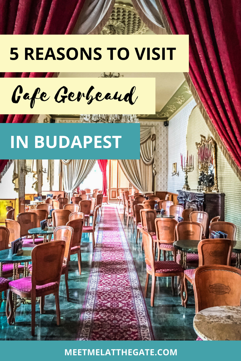 Make sure to visit one of Budapest's most beautiful cafés.