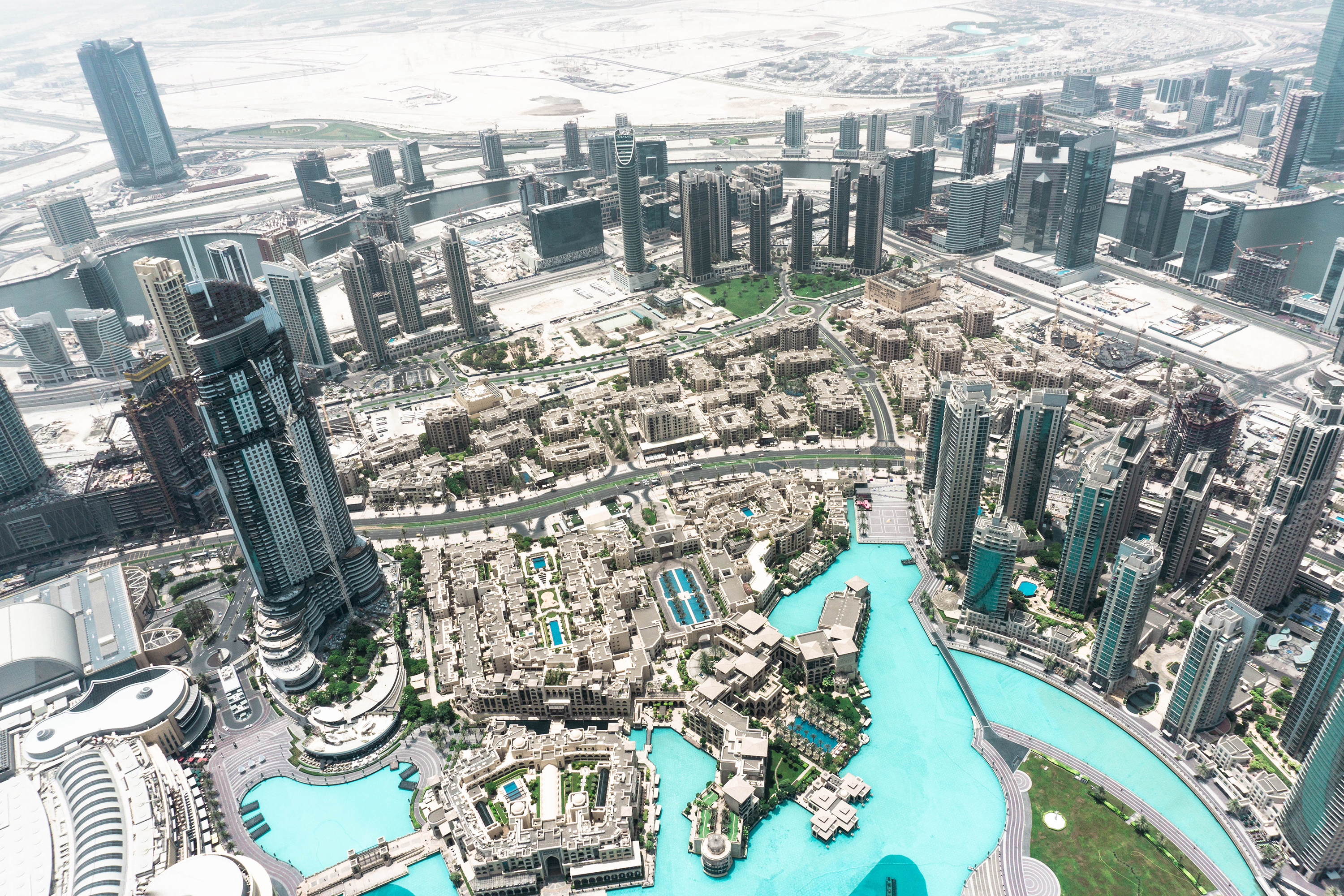 1 day in Dubai – downtown view from Burj Khalifa