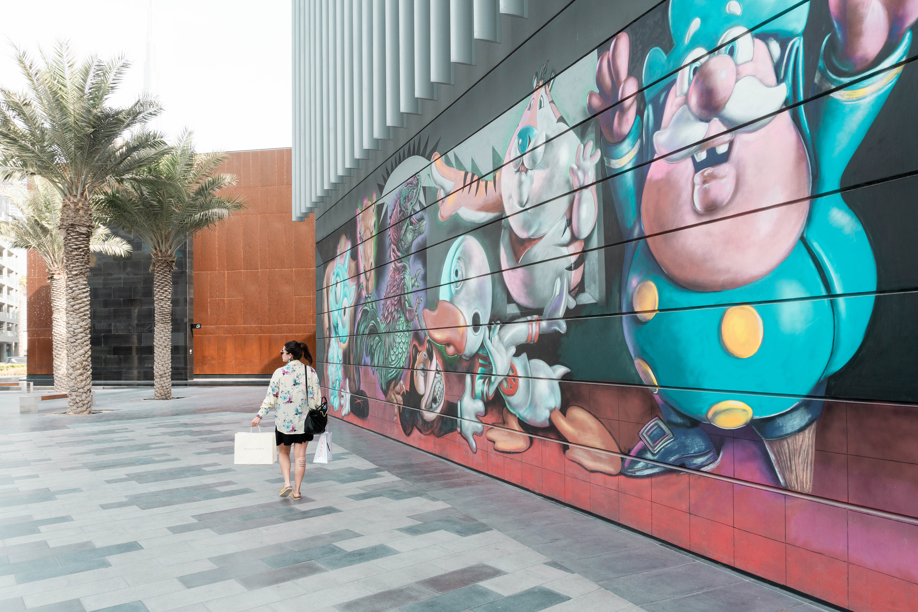 1 day in Dubai – City Walk shopping and wall art